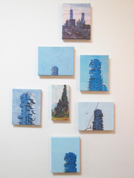 Jenga Building / Homage to Vincent Van Gogh