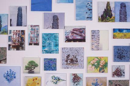 Landscape / Homage to Vincent Van Gogh