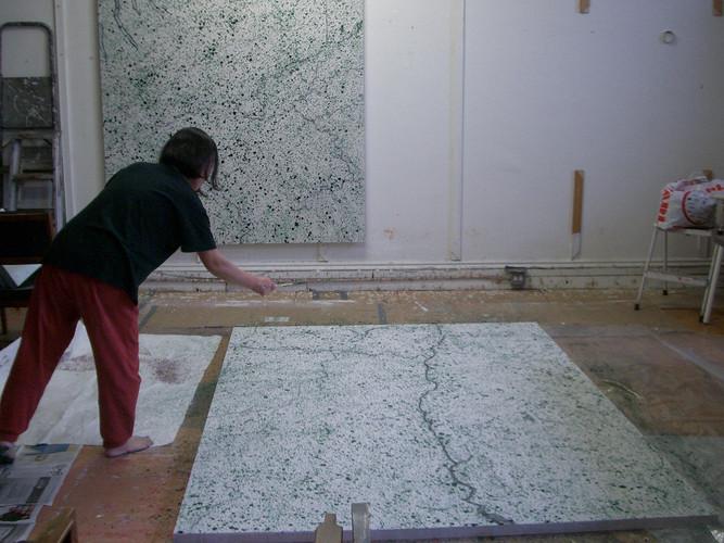 Junko-Yoda-'Hudson'-2006-(Dripping)-Process.jpg