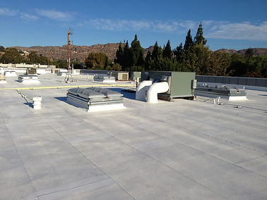 Completed Valley Commercial Center Roof