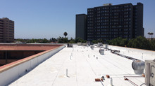 Huntington Terrace MBK Senior Living Roofing Project in Huntington Beach, California
