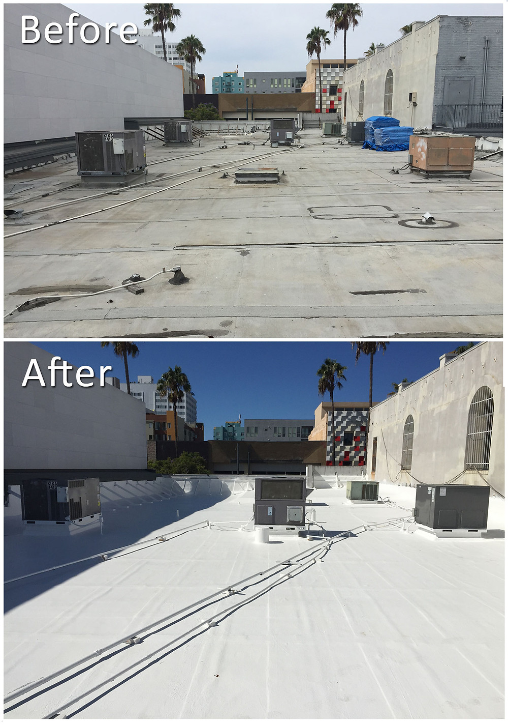 Santa Monica Commercial Acrylic Roof System