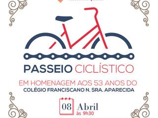 Alteração da data do Passeio Ciclístico