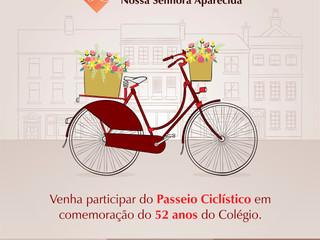 3° Passeio Ciclístico em comemoração aos 52 anos do CFNSA