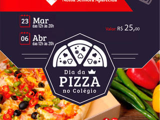 Dia da Pizza no Colégio