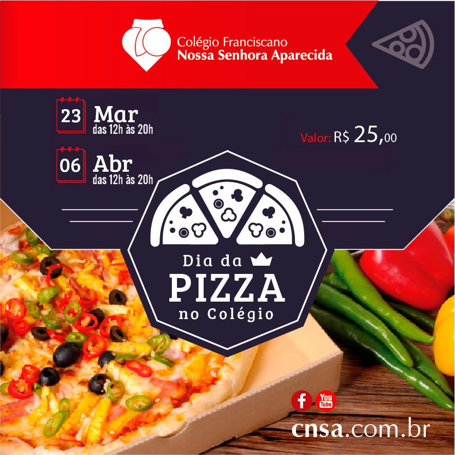 Dia da Pizza no Colégio