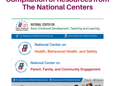 National Center Resources:Caring for Children & Staff During COVID, Anti-Bias Teaching and more