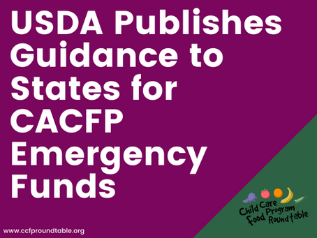 FNS Publishes Guidance on Emergency Funds