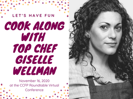 Come cook along with Top Chef, Giselle Wellman, at the Conference on Nov. 16th!