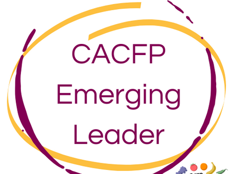 Launching the Featured CACFP Emerging Leaders Program