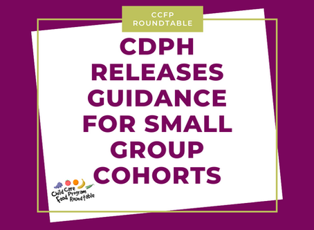 Guidance for Small Cohorts from the California Department of Public Health