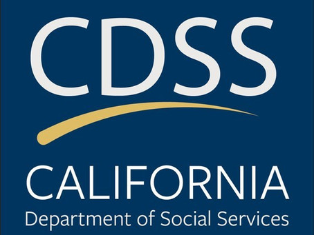 CACFP and Child Care from CDE to CDSS Transition Update