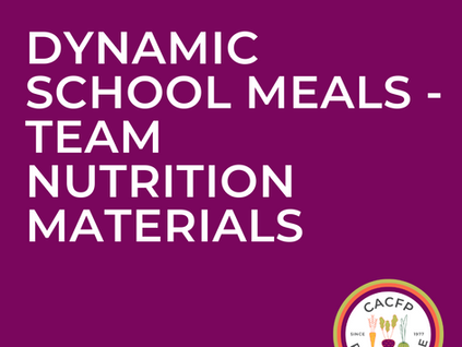 USDA Providing Resources for Dynamic School Meals as the Nation Continues to Navigate COVID