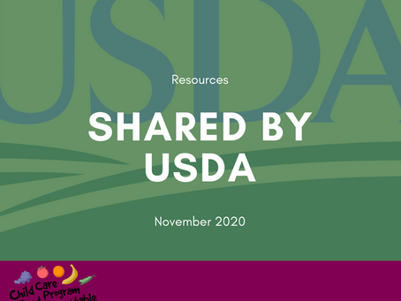USDA shared resources at our Town Hall - Find them here