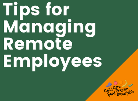 Managing Remote Employees?  Here Are Some Tips