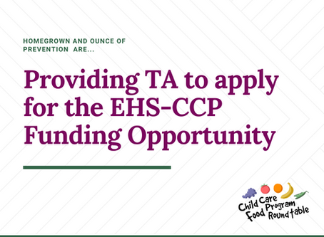 Early Head Start-Child Care Partnership & Expansion Grants - Get Some Support