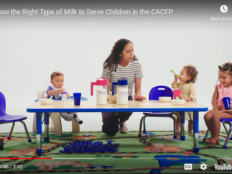 Mealtime with Toddlers in the CACFP - Team Nutrition Resources
