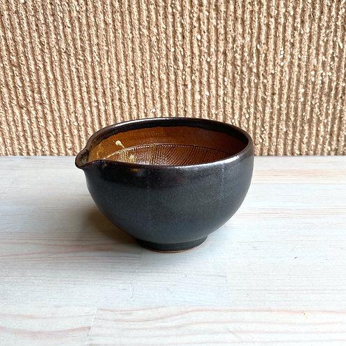 すり鉢(小)黒