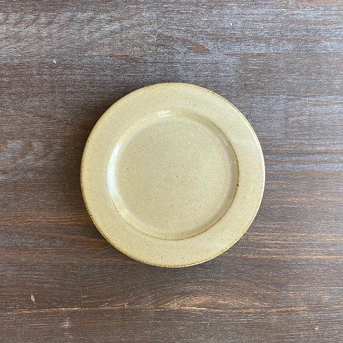 リム皿 5寸 乳白