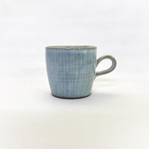ストレートマグカップ(L) 白釉②