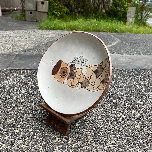 絵皿(大)④