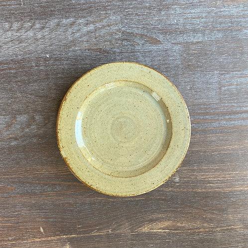 リム皿 5寸 透明釉