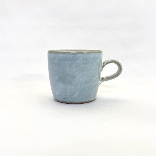 ストレートマグカップ(L) 白釉①