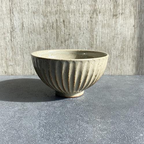 鎬飯碗(小)透明釉