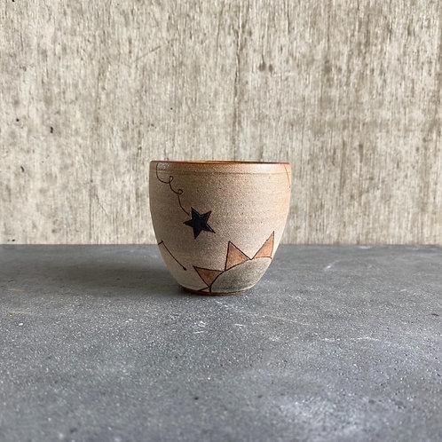 釣鐘CUP(小)星柄