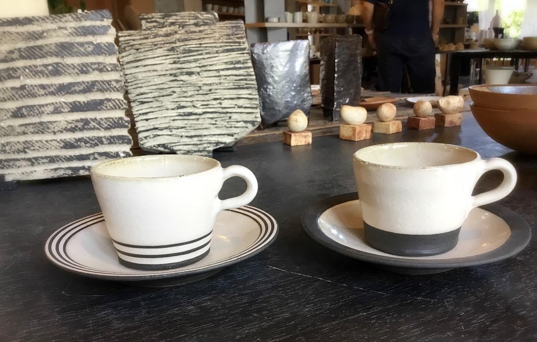 丸尾焼 器 天草 カップ&ソーサー コーヒーカップ