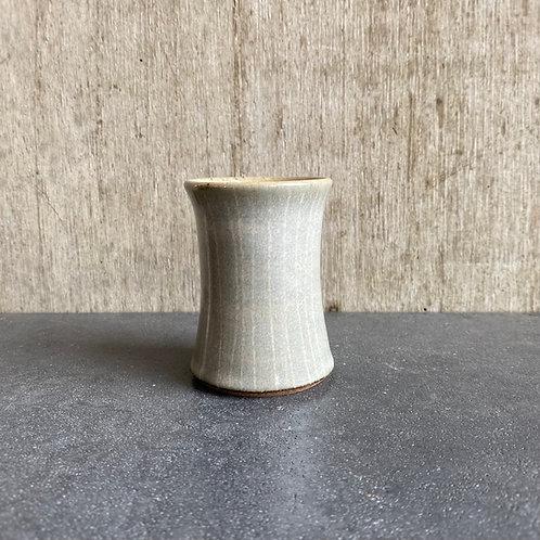椿cup  乳白釉ストライプ