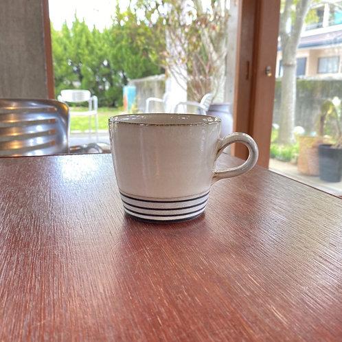 ストレートマグカップ(L) 太ボーダー
