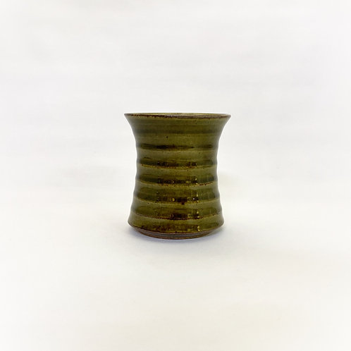 横鎬CUP 緑釉