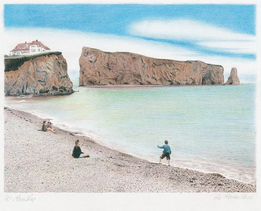 Rocher Percé, Gaspesie