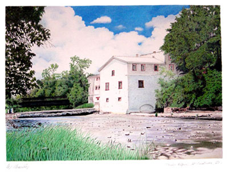 Moulin Légaré Mill, St-Eustache, Qc.