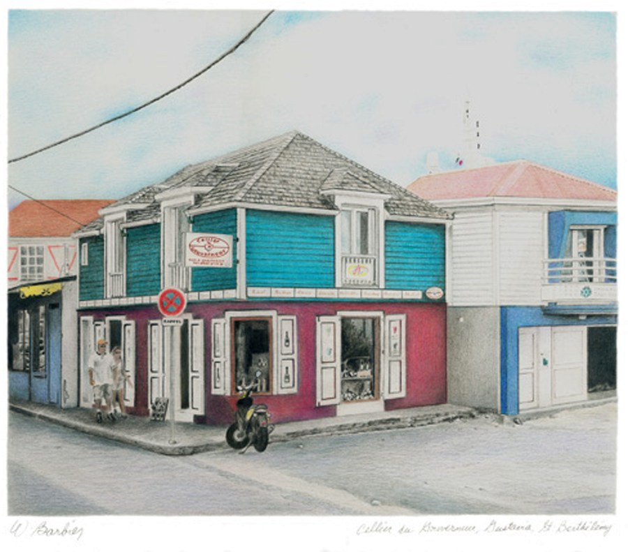 Gustavia, St-Barthélémie, Antilles
