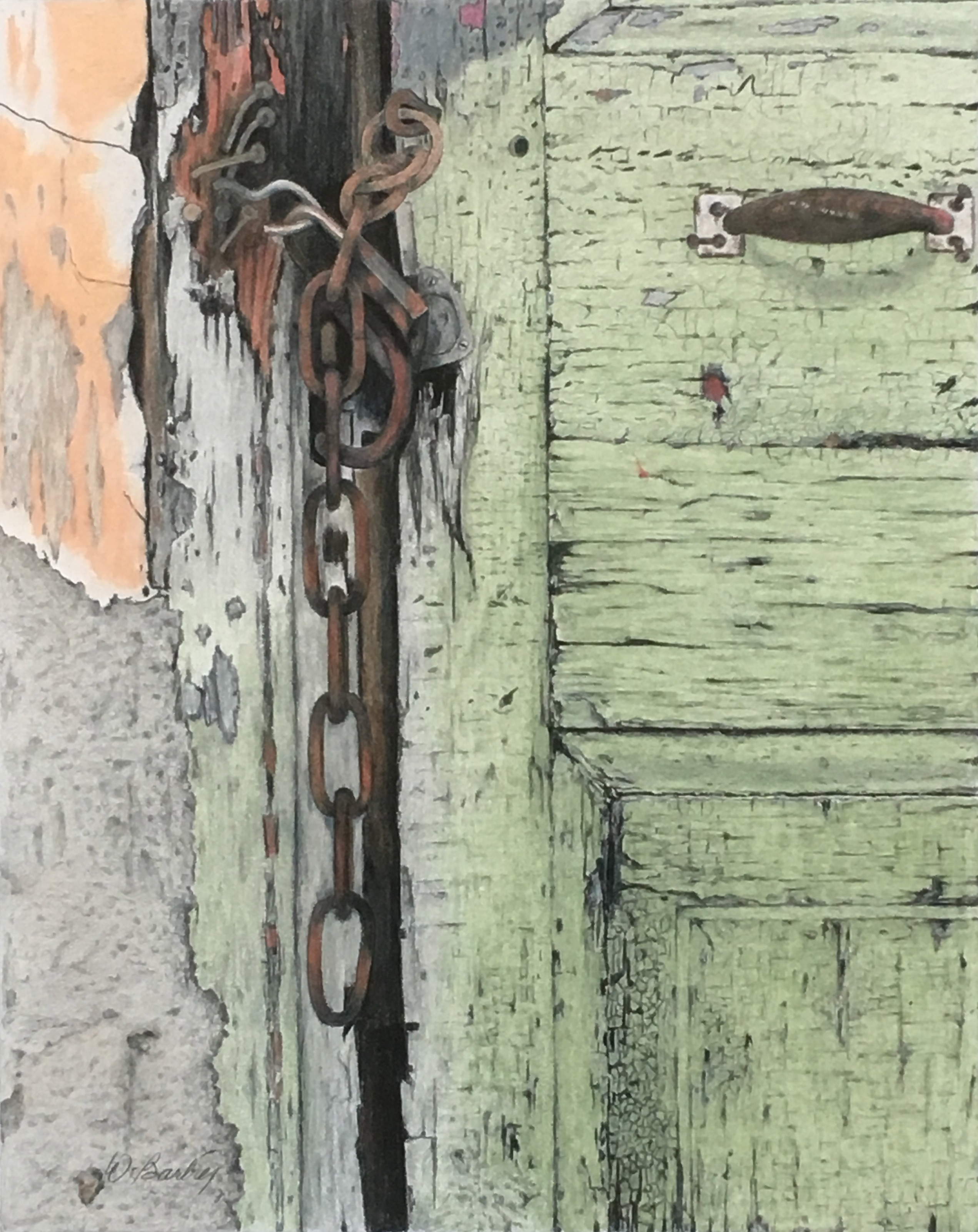 Vieille porte / Old door
