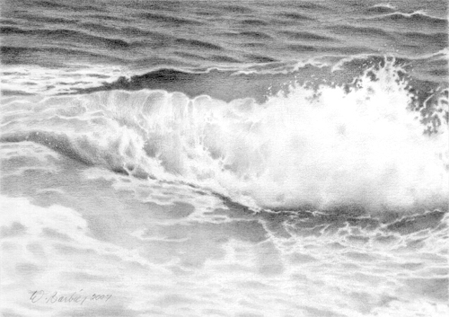 Une vague / A wave