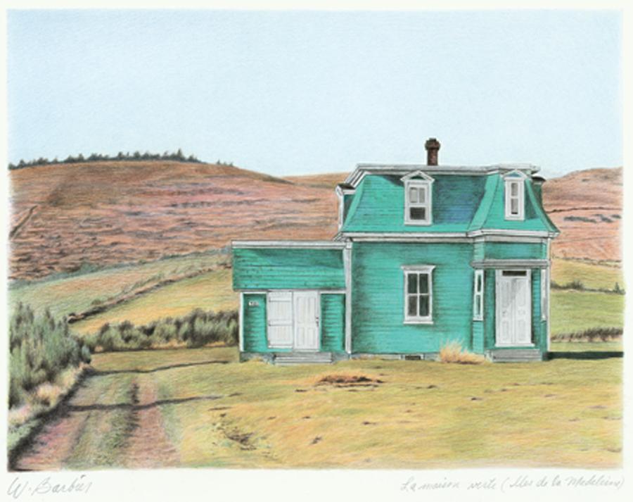 Maison verte / Green House