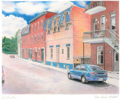 Rue Dorion, Montréal, Qc.
