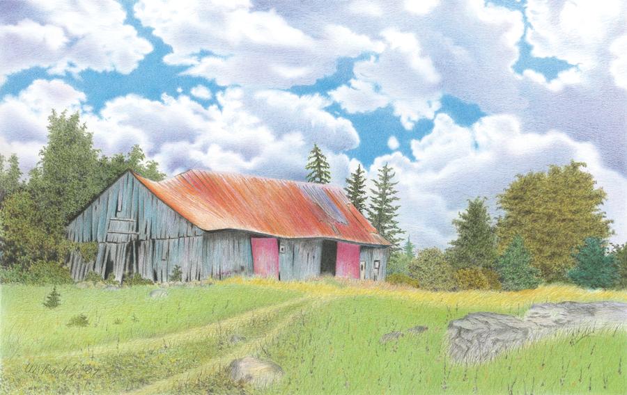 Grange abandonnée / abandoned barn