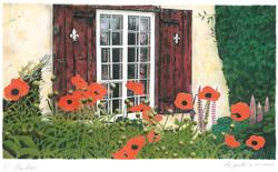 La fenêtre à carreaux / Plaid Window