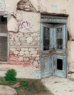 Porte à Athènes / Door in Athens