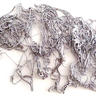 Série Escultura Releitura de Pollock