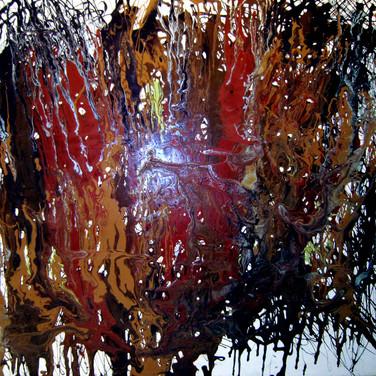 Releitura de Pollock IV, 2004