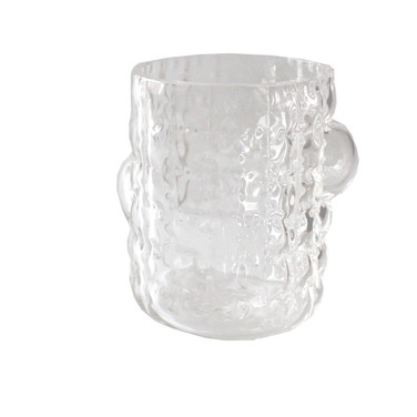 Cristal soprado e moldado á mão