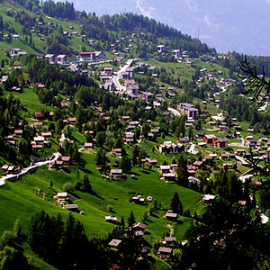 La Tzoumaz Village