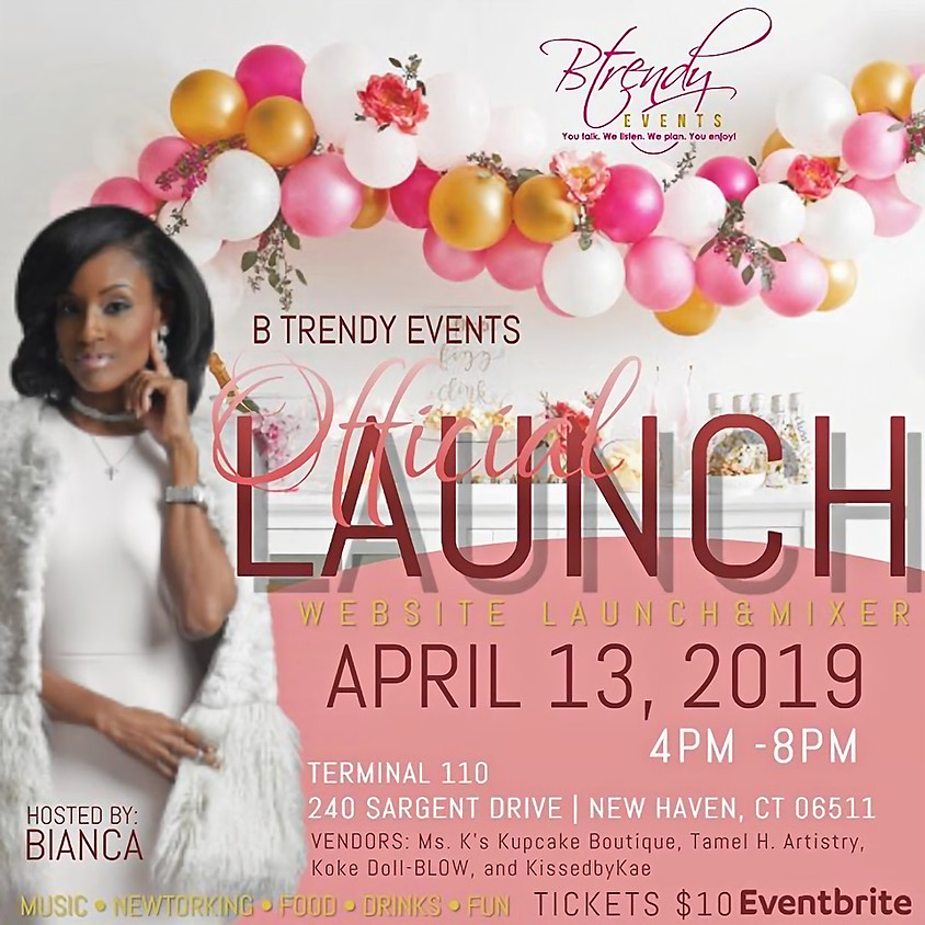 B TRENDY EVENTS OFFICIAL LAUNCH PARTY