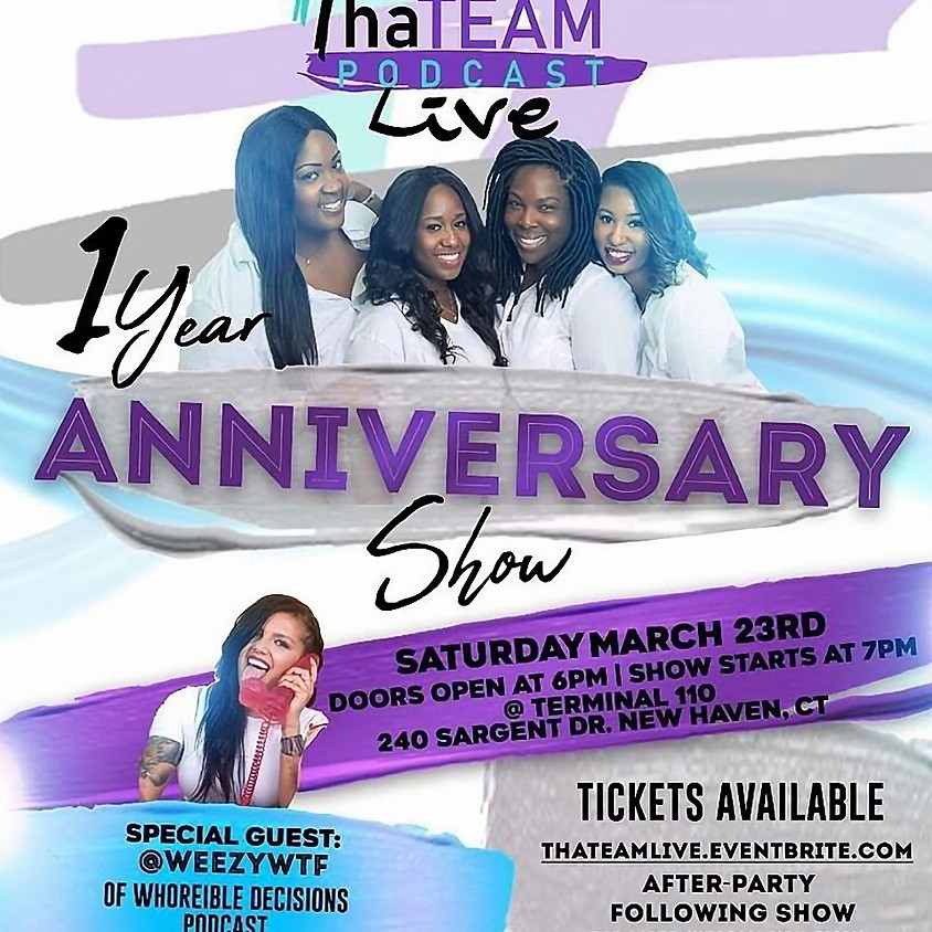 That Team Podcast 1 Year Anniversary Live Show