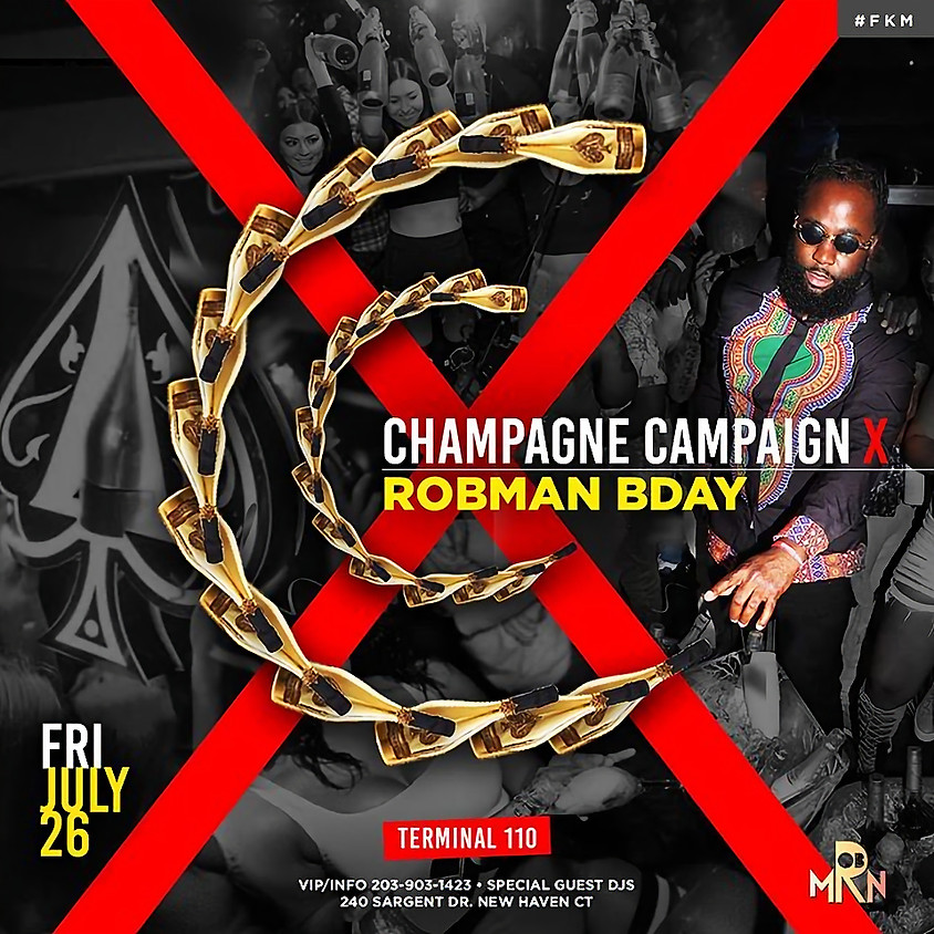 Champagne Campagne Rob Birthday Bash